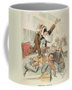 Senate Cartoon,free Silver Coffee Mug by Granger