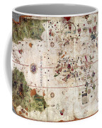 Nina: World Map, 1500 Coffee Mug