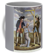 Tarring & Feathering, 1774 Coffee Mug