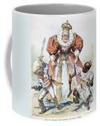 Imperialism Cartoon, 1896 Coffee Mug