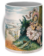 James Blaine Cartoon, 1884 Coffee Mug