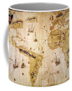 Vespucci's World Map, 1526 Coffee Mug