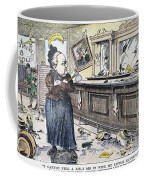 Carry Nation Cartoon, 1901 Coffee Mug by Granger