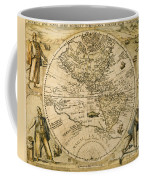 W. Hemisphere Map, 1596 Coffee Mug
