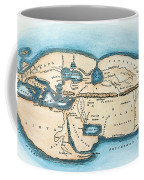 Strabo World Map, C20 A.d Coffee Mug