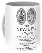 Virginia Tract, 1612 Coffee Mug