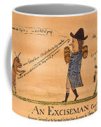 Cartoon: Whiskey Tax, 1794 Coffee Mug