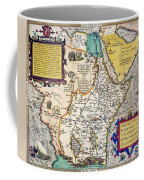 African Map, 1595 Coffee Mug