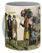 Cartoon: French War, 1798 Coffee Mug