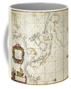 Map: East Indies, 1670 Coffee Mug