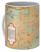 Jolliet: North America 1674 Coffee Mug