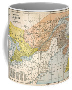 Map: Eastern Canada Coffee Mug