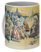 G. Cleveland Cartoon, 1896 Coffee Mug