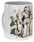 Justice Cartoon Coffee Mug