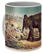 Office Seekers 1885 Coffee Mug