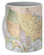 Map: U.s. Expansion, 1905 Coffee Mug