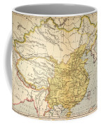 Map: China, 1910 Coffee Mug
