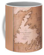 Cook: Newfoundland, 1763 Coffee Mug