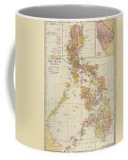 Map: Philippines, 1905 Coffee Mug