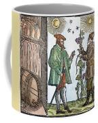 Wine Merchant, 1582 Coffee Mug