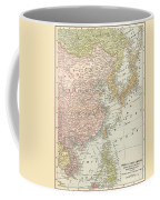 Map: East Asia, 1907 Coffee Mug