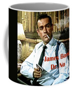 007, James Bond, Sean Connery, Dr No Coffee Mug