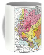 Map: Expansion Of Russia Coffee Mug