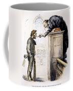 Red Scare Cartoon, 1919 Coffee Mug