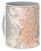 Spain: Madrid Map, C1920 Coffee Mug