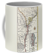 Map: North America, C1700 Coffee Mug