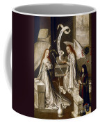 Spain: Annunciation, C1500 Coffee Mug