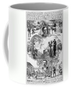 Uncle Tom's Cabin, C1899 Coffee Mug