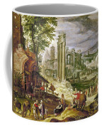 Roman Forum, 16th Century Coffee Mug