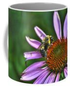 02 Bee And Echinacea Coffee Mug