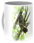 0304-002 - Barred Owl Coffee Mug
