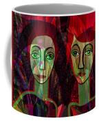 039   Two Pensive Women A Coffee Mug