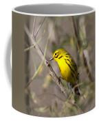 0839 -yellow Warbler Coffee Mug