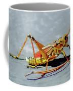 15- Lubber Grasshopper Coffee Mug