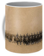 180 Degrees Panorama Troops Passing In Review No Date Or Locale Restored Color Added 2008 Coffee Mug