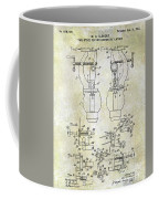1902 Watchmakers Lathes Patent Coffee Mug
