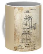 1903 Wine Press Patent Coffee Mug
