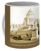 1904 Worlds Fair, Festival Hall, Jefferson Statue Coffee Mug