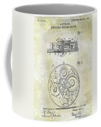 1908 Pocket Watch Patent  Coffee Mug