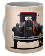 1931 Ford Model A  Coffee Mug