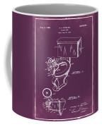1936 Toilet Bowl Patent Chalk Coffee Mug