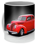 1938 Ford Five-window Coupe II Coffee Mug