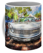 1959 Lincoln Continental Town Car Mk Iv Painted  Coffee Mug