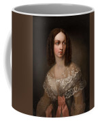 19th Century Russian Artist Portrait Of Countess Aleksandra Vladimirovna Musina-pushkina, 1853 Coffee Mug