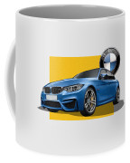 2016  B M W  M 3  Sedan With 3 D Badge  Coffee Mug
