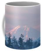 2018_3_17  Sunrise Mt. Rainier-6233  Coffee Mug
